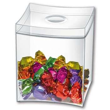 Plastová krabička CEP na sladkosti - čirá