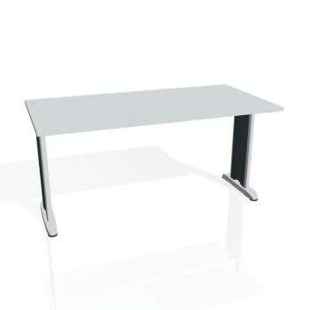 Jednací stůl Hobis FLEX FJ 1600, šedá/kov