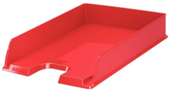 Zásuvka Esselte VIVIDA - A4, plastová, červená