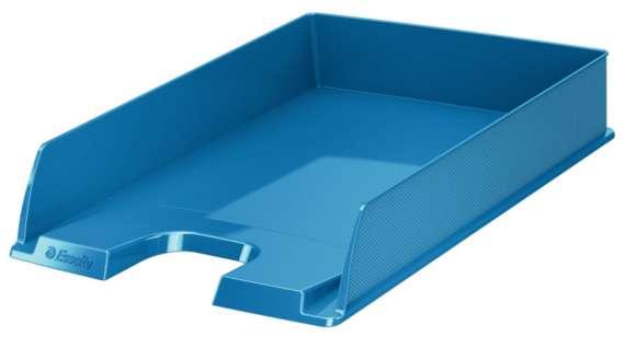 Zásuvka Esselte VIVIDA - A4, plastová, modrá