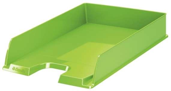 Zásuvka Esselte VIVIDA - A4, plastová, zelená