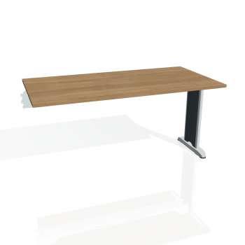 Jednací stůl Hobis FLEX FJ 1600 R, višeň/kov
