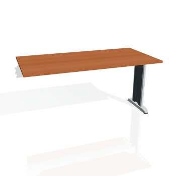 Jednací stůl Hobis FLEX FJ 1600 R, třešeň/kov