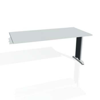 Jednací stůl Hobis FLEX FJ 1600 R, šedá/kov