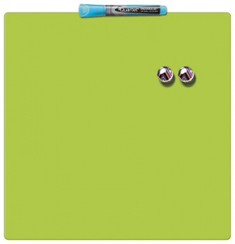 Magnetická tabule Quartet - 36 x 36 cm, zelená