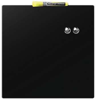 Magnetická tabule Quartet - 36 x 36 cm, černá