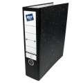 Archivační pořadač pro závěsné rychlovazače Hit Office - hřbet 7,5 cm, černý, mramorovaný