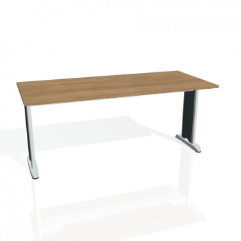 Jednací stůl Hobis FLEX FJ 1800, višeň/kov