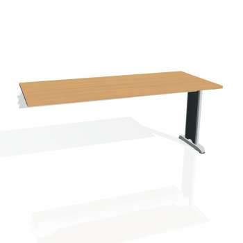 Jednací stůl Hobis FLEX FJ 1800 R, buk/kov