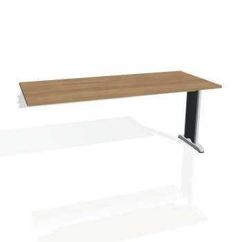Jednací stůl Hobis FLEX FJ 1800 R, višeň/kov