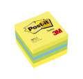 Samolepicí minibločky Post-it v kostce - lemon