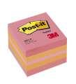 Samolepicí minibločky Post-it v kostce - pink