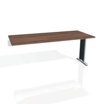 Jednací stůl Hobis FLEX FJ 1800 R, ořech/kov