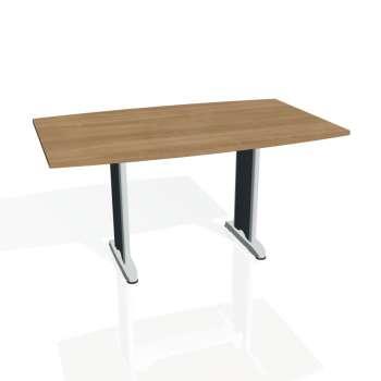 Jednací stůl Hobis FLEX FJ 150, višeň/kov