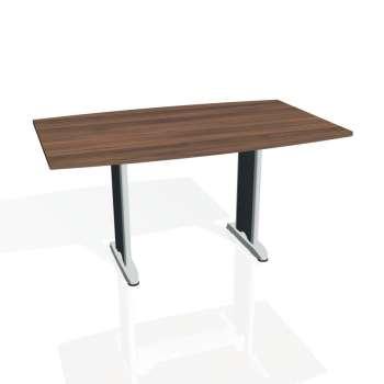 Jednací stůl Hobis FLEX FJ 150, ořech/kov