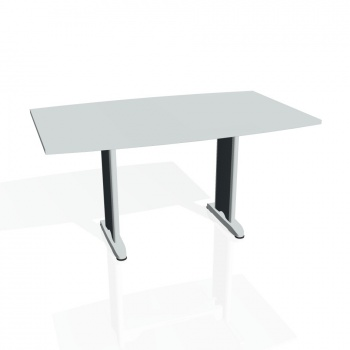 Jednací stůl Hobis FLEX FJ 150, šedá/kov