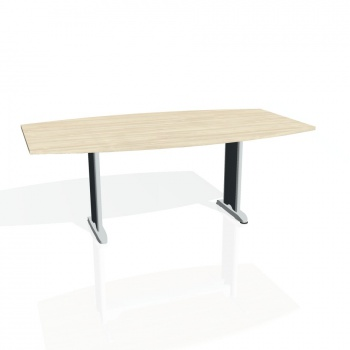 Jednací stůl Hobis FLEX FJ 200, akát/kov