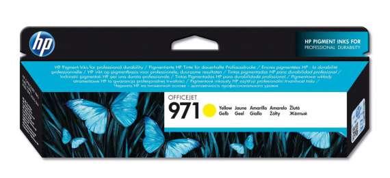 Cartridge HP CN624AE/971 - žlutá