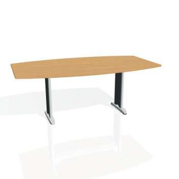 Jednací stůl Hobis FLEX FJ 200, buk/kov