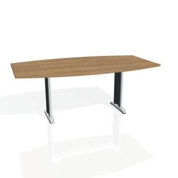 Jednací stůl Hobis FLEX FJ 200, višeň/kov