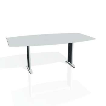 Jednací stůl Hobis FLEX FJ 200, šedá/kov