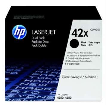 Toner HP Q5942XD/49X - černá, dvojbalení