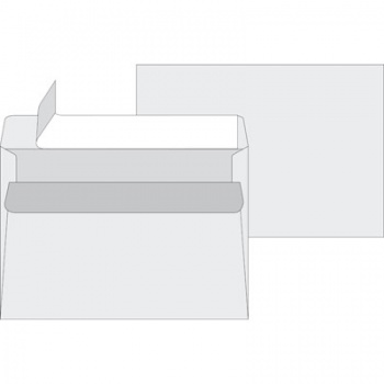 Obálky C5 - samolepicí, s krycí páskou, 1000 ks