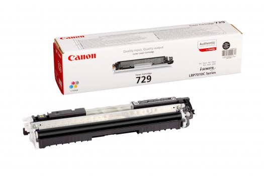 Toner Canon CRG-729BK - černý