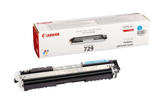 Toner Canon CRG-729C - azurová