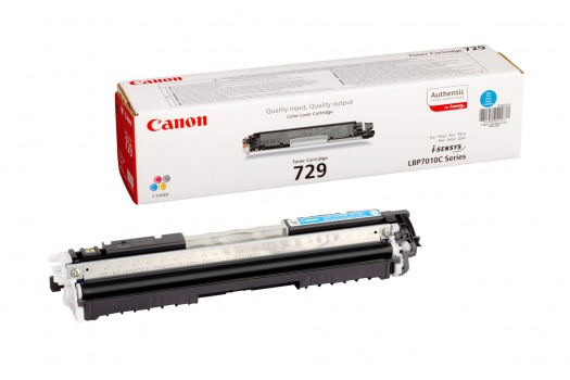 Toner Canon CRG-729C - azurový