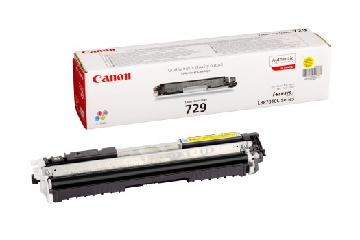 Toner Canon CRG-729Y - žlutý