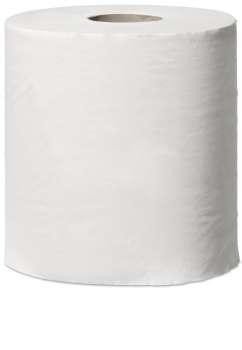 Papírové utěrky Tork Reflex v roli - bílé, návin 150 m, 6 rolí