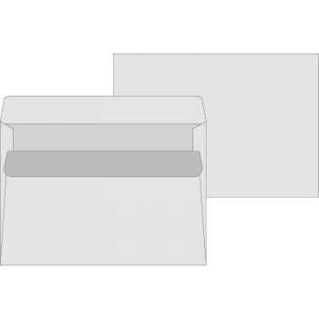 Samolepící obálky C5 recyklované - 1000 ks