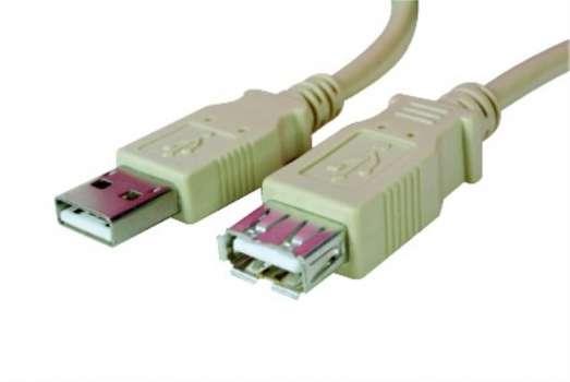 Prodlužovací kabel USB 2.0 Manhattan - A-A, 1,8 m