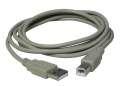 Propojovací kabel USB 2.0 Manhattan - A-B, 3,0 m