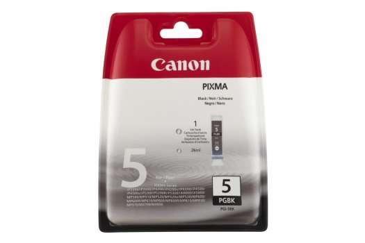 Cartridge Canon PGI-5BK - černá