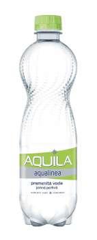 Pramenitá voda  Aquila aqualinea - jemně perlivá, 12x 0,5 l