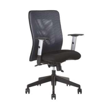 Židle kancelářská Mauritia synchro, černá