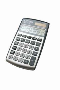 Stolní kalkulačka Citizen CPC-112 - stříbrná