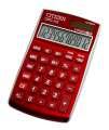 Stolní kalkulačka Citizen CPC-112 - červená