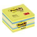 Samolepící bločky Post-it v kostce - lemon