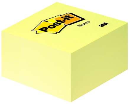 Bločky Post-it v kostce žluté
