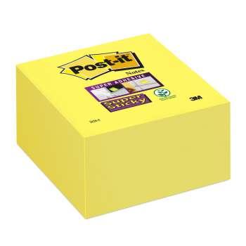 Poznámkový samolepicí bloček Post-it Super Sticky - ultražlutý, 350 ks