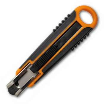 Vysouvací nůž Fiskars - bezpečnostní, 18 mm