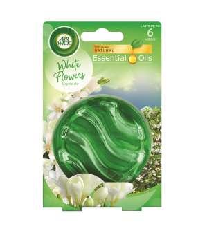 Osvěžovač vzduchu - Airwick Crystal Air, bílé květy