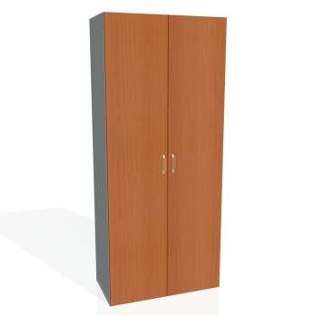 Šatní skříň policová Drive, plné dveře