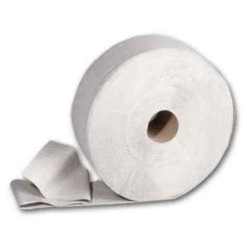 Toaletní papír Jumbo - jednovrstvý, průměr 24 cm, 6 rolí