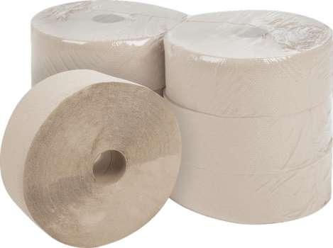 Toaletní papír Jumbo - jednovrstvý, průměr 28 cm, 6 rolí