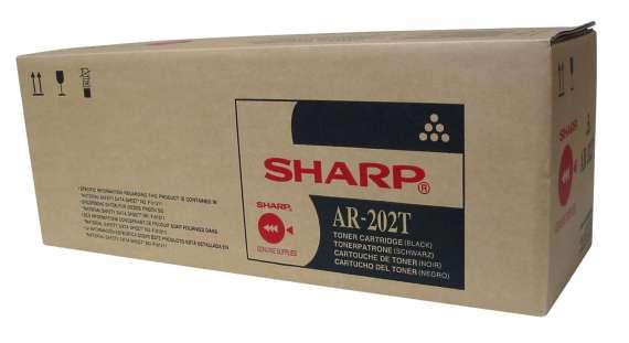 Toner Sharp AR-202T - černá