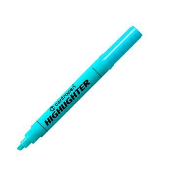 Zvýrazňovač Centropen 8552 - modrý, 10 ks